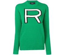"Pullover mit ""R""-Motiv"