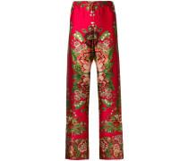 Ade pajama-style bottoms