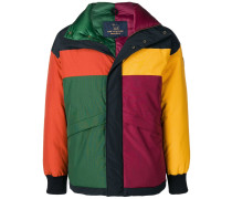 Kapuzenjacke in Colour-Block-Optik