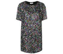 sequinned T-shirt dress