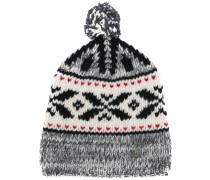 Mütze mit Pompom