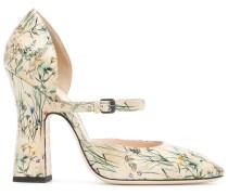 wild floral pumps