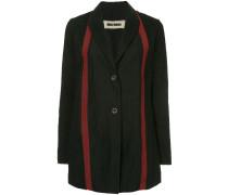stripe detail coat