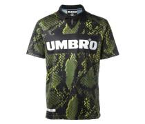 x Umbro T-Shirt mit Schlangenleder-Print