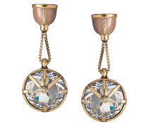 crystal embellished drop earrings - Unavailable