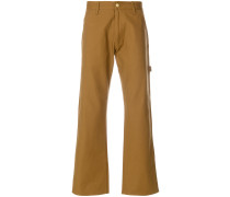 oversize pocket wide leg trousers