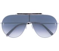 Pilotenbrille mit Kontraststeg