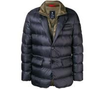 layered down jacket