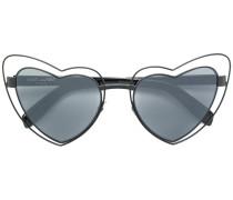 Herzförmige Sonnenbrille