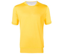 T-Shirt mit Kontrastdetail