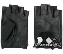 charm fingerless gloves