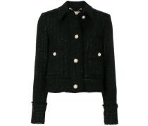 Tweed-Jacke mit langen Ärmeln