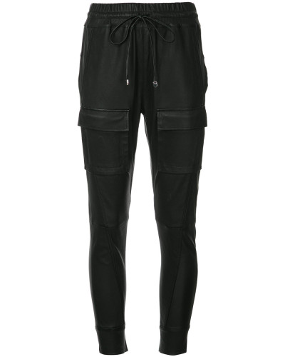 Open Season leather trousers