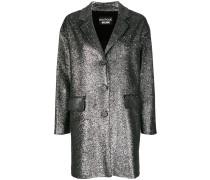 Mantel mit Paillettenstickerei
