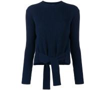 Kaschmir-Pullover mit Gürtel