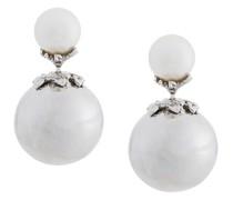 Sterlingsilber-Ohrstecker mit Perlen