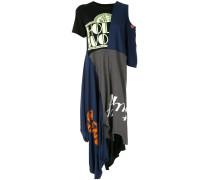 T-Shirtkleid im Deconstructed-Look