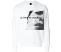 front printed sweatshirt