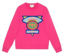 Sweatshirt mit  80s-Patch