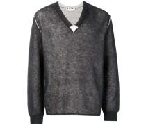 Pullover im Inside-Out-Design