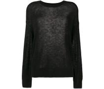 oversized woolly jumper