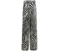 Hose mit Zebra-Print