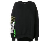 Oversized-Sweatshirt mit Print
