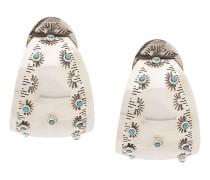 Ohrringe mit rundem Anhänger