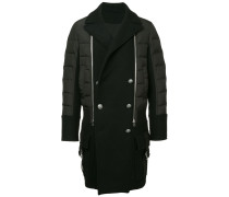 padded military coat