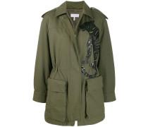 embellished tiger coat