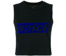 'Strict' Cropped-Top