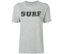 surf print T-shirt