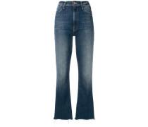 Cropped-Jeans mit lockerem Schnitt