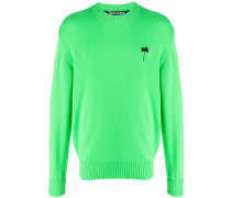 'Fluo Palm' Pullover