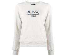 A.P.C. Sweatshirt mit Logo