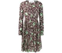 Florales Kleid mit Pailletten