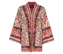 Kimono mit Stickerei