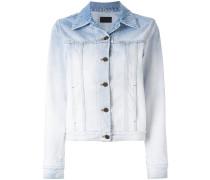 Jeansjacke mit Farbverlauf