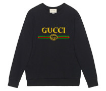 Oversized-Sweatshirt mit -Logo