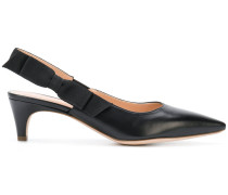 sling-back pointed pumps