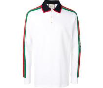 Poloshirt mit Logo-Streifen