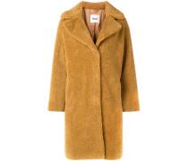 Mantel aus Faux-Shearling