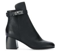 side twist-lock ankle boots