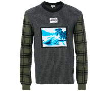 'Tropical Ice' Wollpullover