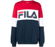 Gestreiftes Sweatshirt mit Logo