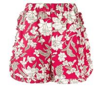 'Lilium' Shorts mit Rüschen