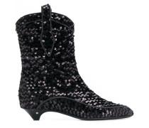Vanessa sequin boots