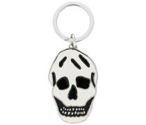 Schlüsselanhänger mit Totenkopf-Motiv