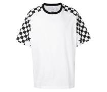 Oversized-T-Shirt mit Schachbrettmuster