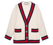 Oversized-Cardigan aus Tweed